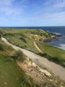 1st hole Cape Wickham